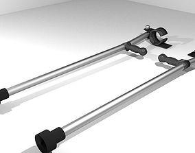 3D model Walking Aids - Forearm Crutch