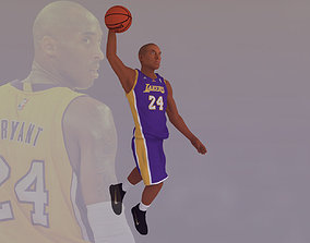 Kobe Bryant ready for full color 3D printing nba
