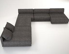 Maximus sofa corner 3D