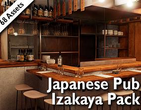 Japanese Izakaya Pub Pack - 68 assets pack realtime