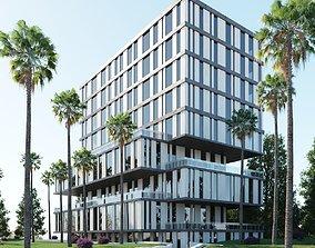 residential building 3D model estate