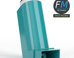 MDI metered dose inhaler 3D model