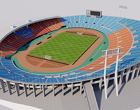 3D model Old National Stadium Tokyo - Japan