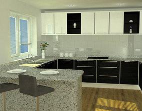 3D Kitchen Model Set - High Accuracy