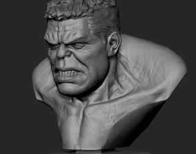 Hulk Bust infinitywar 3D print model