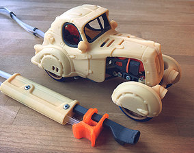 Pneumatic Toy Car With Body Kits 3D print model
