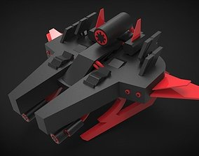 3D model game-ready Ultimate Spaceship