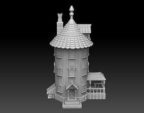3D printable model Finnish Troll House