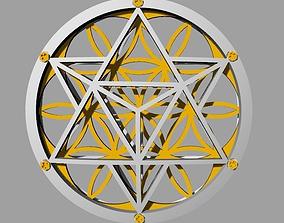 3D print model Flower of Life Pendant