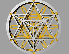 3D print model Flower of Life Pendant