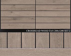 3D ABK Crossroad Wood Tan 200x1200 Set 2