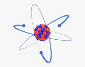 The Atom 3D model