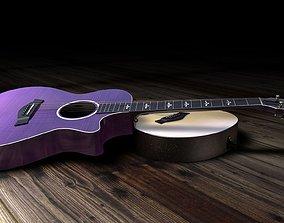 3D Taylor 612 Acoustic Guitar