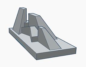 Geometric Scene 4a 3D print model