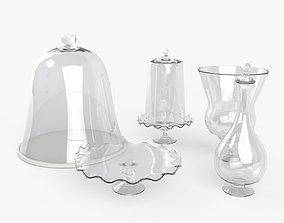 3D model Antique Glassware