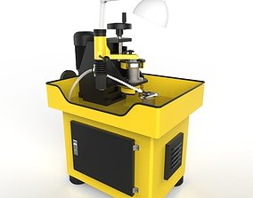 Saw-Diamond Blade Sharpening Machine 3D