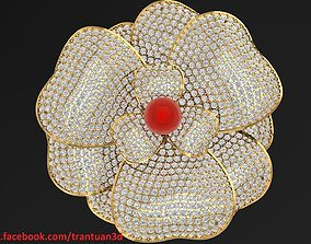 167 Pin Flower Accessories Fashion 3D print model