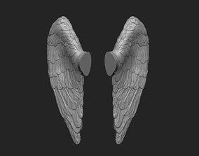 Little angel wings 3D print model