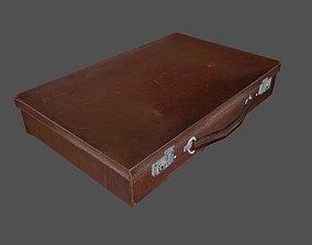 3D model VR / AR ready Briefcase