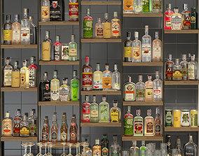 3D model Large bar 6 Alcohol
