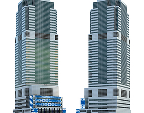 3D model Morgan Stanley Building in New York