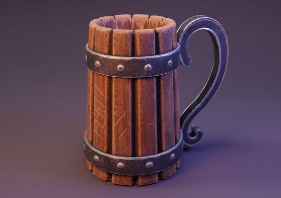 Viking Beer Jar