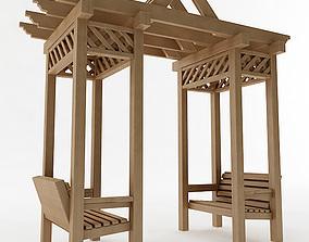 3D model Arbor Trellis Style 2