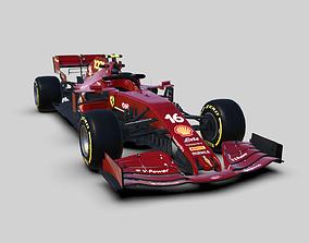 3D asset Ferrari SF1000 - 1000GP F1 2020