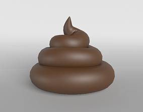 3D asset Pile of Poo v1 002