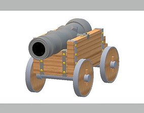 3D print model Medieval Canon
