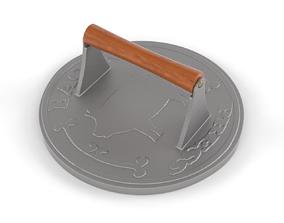 3D model Iron Bacon Press