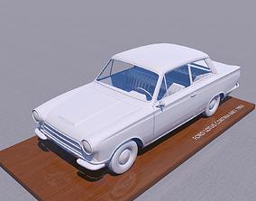 FOR-D CORTINA LOTUS MK1 1963 3D print model print