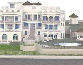 3D model Modern classical House