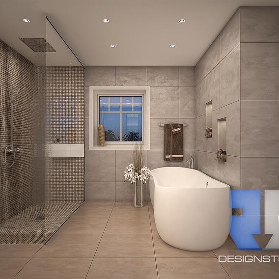 Bathroom for house
