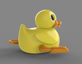 3D model Wind-up duck