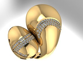 jewelery fusion Ring 3D printable model
