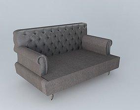 gray Elegant sofa 3D