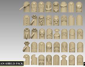 Egyptian Shield Pack 3D print model