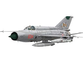 3D model game-ready MiG-21 Bison | CGTrader