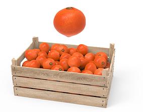 Tangerine Box 3D model