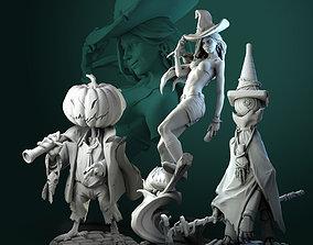 Halloween Witch bundle 3D print model