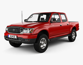 Toyota Tacoma Double Cab Limited 2001 3D