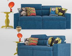 Pop set sofa 3D model