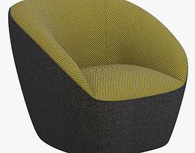 3D Roche Bobois Edito armchair