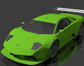 3D model Lamborghini Gallardo gts