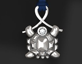 Turtle pendant - original 3D printable model