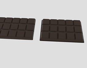 3D asset Chocolate Bar