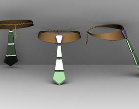 3D model Tie necklace