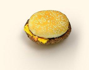 Hamburger 3D asset