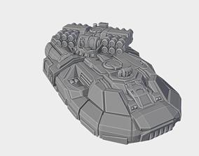 3D print model Gadfly - Light Hovertank mecha